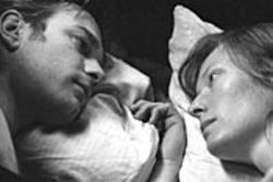 Ewan McGregor tangles with Tilda Swinton in Young Adam.