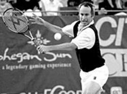 Still a baller: John McEnroe.