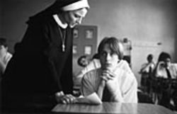Kieran Culkin's cocky character plots his revenge against Sister Assumpta (Jodie Foster). Let's just say it involves a cougar.