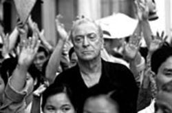 The quiet Brit: Michael Caine plays a world-weary journalist covering the simmering politics of Saigon in the 1950s.