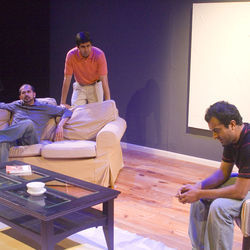 Asif Sayani, Prateek Karkal and Karthik Chander do an interesting interpretation in Sunya Theatre's production.