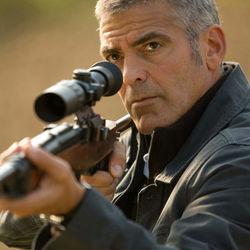Jack (George Clooney) is trapped in his own purgatory.