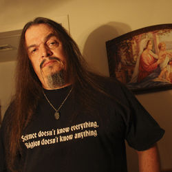 Aron Ra says atheists aren't forcing their views on anyone, unlike the religious right.