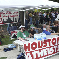 Houston was represented at the Texas Freethought Convention in Austin.
