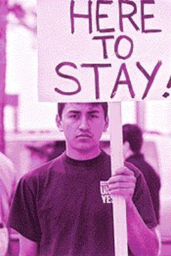 Reynaldo Montiel, 19, worries about surviving if he leaves the plant.