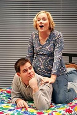 Youthful bliss: Lizzie (Ivy Castle) and Danny (Doug  Thompson).