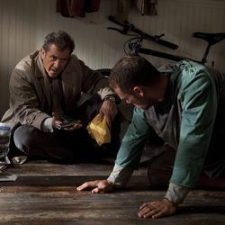 Mel Gibson (left) plays Thomas Craven, a veteran homicide detective and lonesome widower.