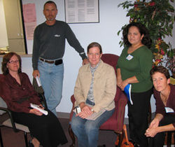 Carnegie parents (l-r) Susan Escudier, Stan Vaughan, Anne Swanson, Noemi Montejo and Jocelyn Ellis &amp;mdash; they&#039;re smart, feisty and tenacious, and could be Superintendent Abe Saavedra&#039;s latest, biggest nightmare.