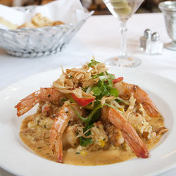 Best in town: the shrimp and grits.
