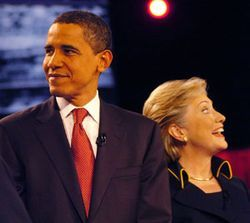 Obama and Hillary Clinton squared off in a recent debate at the University of Texas.