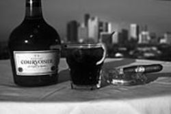 The Sky Bar's Courvoisier and Coke