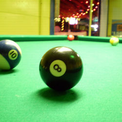 Nightfly got behind the eight ball at Beer Island.