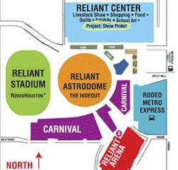 Know your rodeo: Click here to see our version of how to get around Reliant Park.