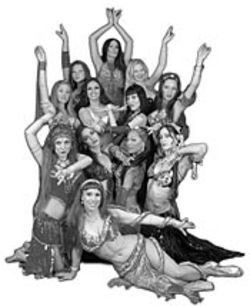 The Bellydance Superstars and the Desert Roses