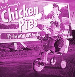 Nick Park and Peter Lord's Chicken Run, like Lasse Hallström's Chocolat, beautifully sums up the grandness of liberating the human spirit.