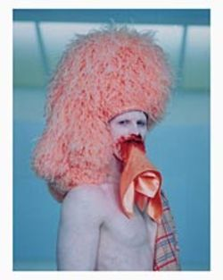 Artist-filmmaker Matthew Barney as the Entered  Apprentice in CREMASTER 3