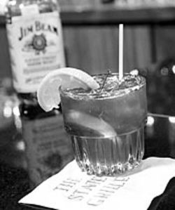 The State Grille's old-fashioned