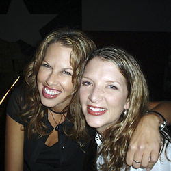 Andie Kay Joyner (l) and Heather Woodruff.
