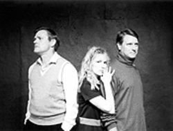 Triple threat: Kent Johnson, Gwendolyn McLarty and Fritz Dickmann deliver the intricate pieces of this dark story with nuance and precision.