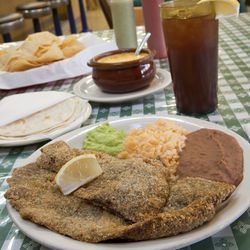 Skip the American fare and get the milanesa.