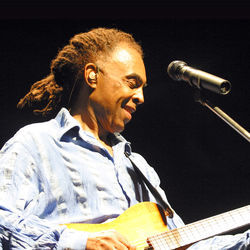 Gilberto Gil's sons helped the Brazilian icon pare down his sound on new CD Bandadois.
