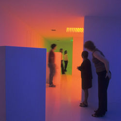 Way before James Turrell did it, Carlos Cruz-Diez created Chromosaturation.