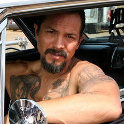 Benjamin  Bratt's vato act is a liability.