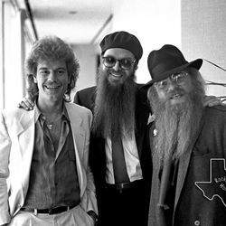 From Bruce Kessler's Rockin' Houston archive, ZZ Top in April 1980