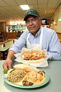 Former Pappadeaux employee Moises Marquez now 