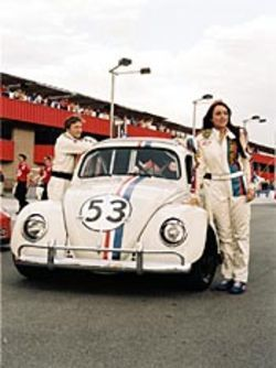 Inexplicable: In Herbie: Fully Loaded, starring  Lindsay Lohan, Herbie tries to kill himself.