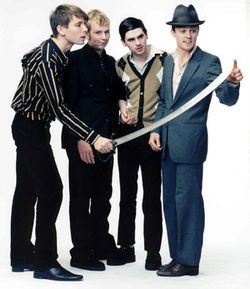 Franz Ferdinand: The clothes aren't all that's sharp!