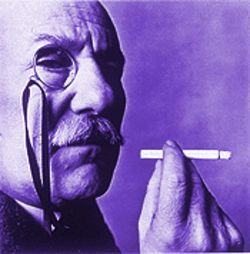 Monocle as metaphor: Irving Penn&#039;s portrait of Barnett Newman captures the artist&#039;s unconventional spirit.