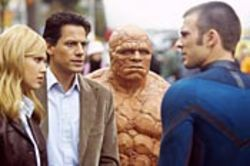 Fantastic Four (starring Jessica Alba, Ioan  Gruffudd, Michael Chiklis and Chris Evans) is a movie  unashamed of its roots.