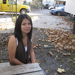 Cecilia Gomez is paying attention now and hopes to become a nurse.