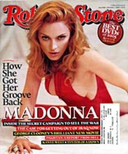 Cover of the Rolling Stone: Shaggable sham.