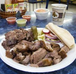 You&#039;ll want to try everything at Gerardo&#039;s, but especially the carnitas and the barbacoa.