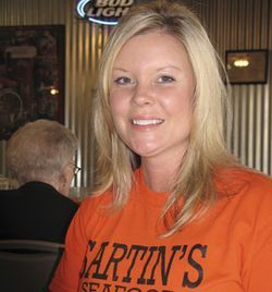 Kim Lynch owns the Sartin's Seafood location in Nederland.