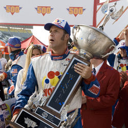Will Ferrell stars in Adam McKay's comedy Talladega Nights: The Ballad of Ricky Bobby.