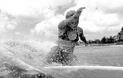 Kate Bosworth was trained to hang ten, but you can't teach personality.