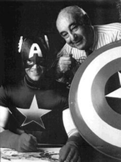 A family photo: Joe Simon gave up Captain America for adoption in 1939. Now, he wants his boy back.