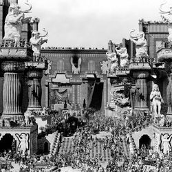 D. W. Griffith's Intolerance, birth of an art form or the beginning of the end?