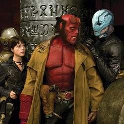 Hellboy II will amaze 12-year-olds and amuse their parents.