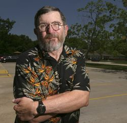 David Clark says he's not being treated like a grown-up at Pecan Village Apartments.