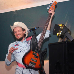 Besides playing bass for Robert Ellis & the Boys, Geoffrey Muller is a member of Montrose alt-country mainstays the Sideshow Tramps and I Am Mesmer.
