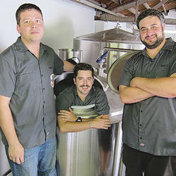 Aaron Corsi, Ryan Soroka and Matt Marcus are bringing craft beer to the East End.