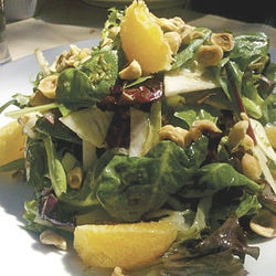 Tastes like summer: the Salade Max &amp; Julie at Brasserie Max &amp; Julie.