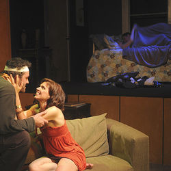 The play (with Greg Dean, Amy Bruce, ­Shelley Calene-Black and Troy Schulze) has lots of sex and violence.