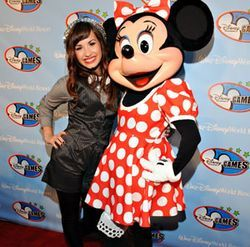 "Move over, Minnie, Demi is Disney's latest ""it"" girl."