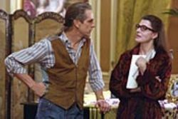 Jeremy Irons (as Larry Kelly) and Fanny Ardant (as  Maria Callas) bitch at each other as only a full-blown  queen and a prima donna could.