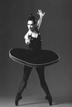 Julie Gumbinner donned an outrageous tutu for Divergence.
